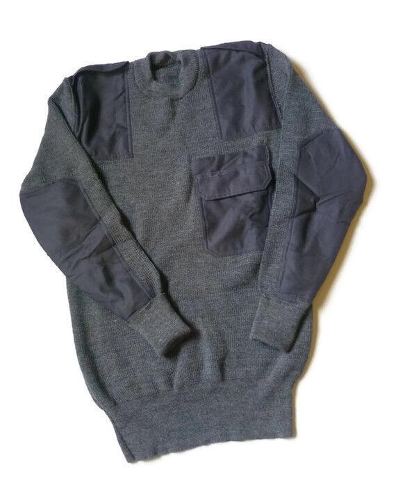 BW-Pullover, Bundeswehr Pullover, Arbeitspullover, Freizeitpullover, Grau
