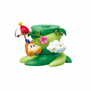 Re-ment Kirby TREE IN DREAMS Stacking Figure - Waddle Dee & Parasol /Ship in Box