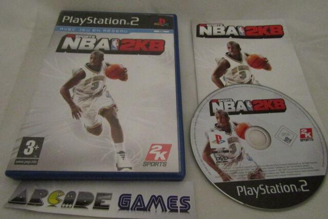 NBA 2K8 PS2 PLAYSTATION 2 COMPLET (vendeur pro, envoi suivi)