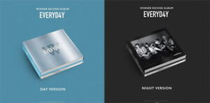 Details about Winner-[Everyd4y]2nd Album Random  CD+PhotoBook+Lyrics+Card+Polaroid+etc+Gift