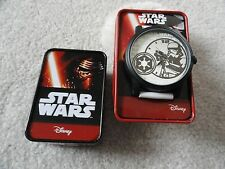 New Star Wars Storm Trooper Quartz  Men's Watch with the Case