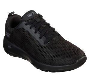 SKECHERS-GOWALK-JOY-PARADISE-15601-BBK-scarpe-donna-sportive-sneakers-tessuto
