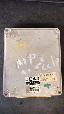 90-91 MAZDA MPV 6CYL ECM ECU COMPUTER JE43 18 881 A