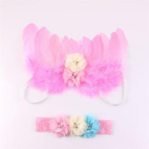 Creative Angel Feather Butterfly Wings Prop Girl HairbandPhoto Photography SJ