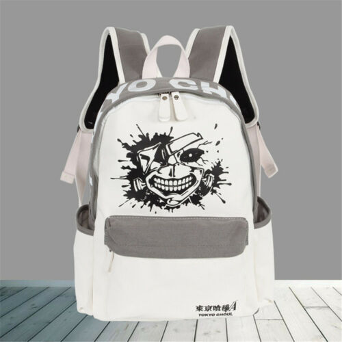 Tokyo Ghoul Softback Canvas School Bag Casual Travel Bag Brief Women Backpack