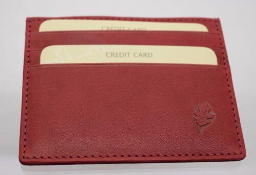 Golunski LEATHER Credit Card Wallet Holder Oyster card ID card RFID New