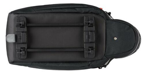 Vaude Silkroad L Schirmlogo mit Snap-IT Halter Gepäckträgertasche Fahrradtasche