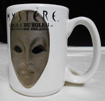 Mystere Cirque Du Soleil Treasure Island 12 oz Ceramic Coffee Mug