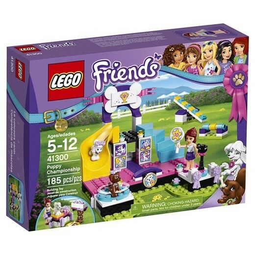BRAND NEW  LEGO Friends Puppy Championship, 41300. 185 pieces  For Ages 5+