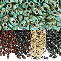20 Or 50 Grams Picasso Miyuki 7mm Long Magatama Glass Seed Beads Pick Your Color