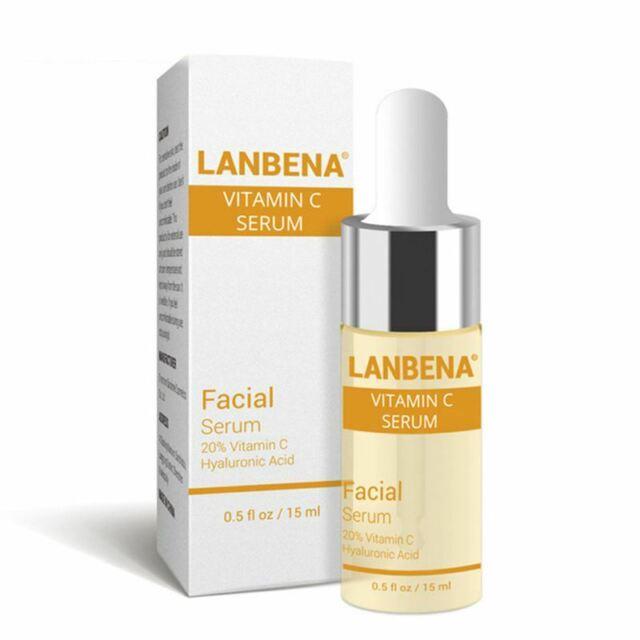 LANBENA Vitamin C Serum VC Removing Dark Spots Freckle Speckle Fade Ageless J1A4