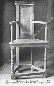 Postcard-Arts-Decorative-Furniture-Caqueteuse-XVI-Edit-ND-377