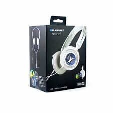 Blaupunkt Trend Foldable On-Ear Headphones Earphones - White **BRAND NEW**
