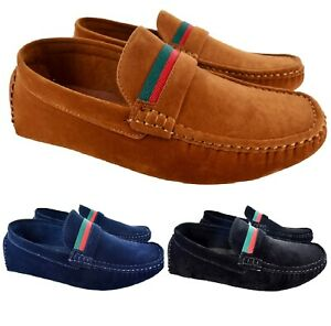 d239a73392a658 MENS NEW FLAT SMART LOAFERS MOCCASINS SLIP ON DRIVING PARTY CASUAL ...