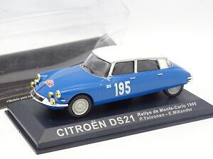 Ixo-Presse-1-43-Citroen-DS-21-Rallye-Monte-Carlo-1966