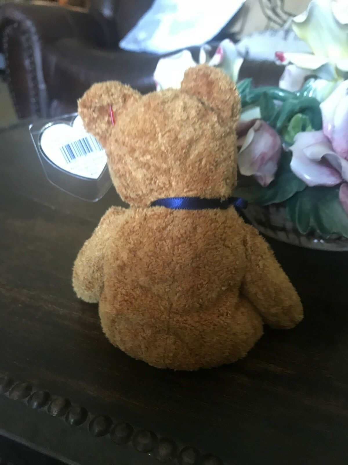 RARE, RARE, RARE, MINT, RETIRED  Fuzz Beanie Baby with Tag Errors on Swing Tag  5e9924