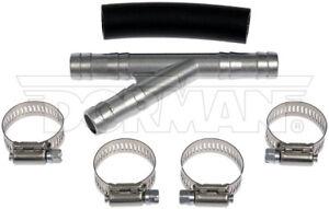 Pair 08-09 Chrysler Dodge V6 2-Return Heater Hose Connectors Lifetime Warranty