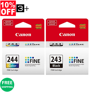 Genuine-Canon-Ink-Cartridges-PG-243-amp-CL-244-Bulk-Package-MG2522-TS202-TS3122