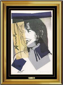Andy Warhol | Andy Warhol Mick Jagger Color Lithograph
