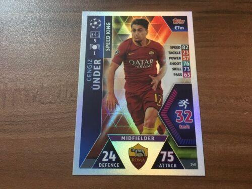 Achetez 1 obtenez 10 cartes 80/% moins cher 2018//19 199+ Topps champions league Match Attax