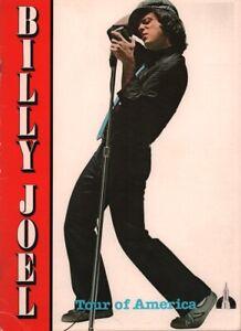 BILLY JOEL 1980 TOUR OF AMERICA 12-CITY CONCERT PROGRAM BOOK BOOKLET / EX 2 NMT