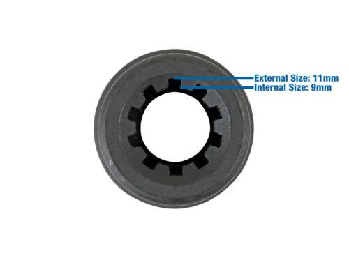 11.5mm X 10 POINT 1//2 DRIVE BRAKE CALIPER SOCKET SPECIAL FOR PORSCHE