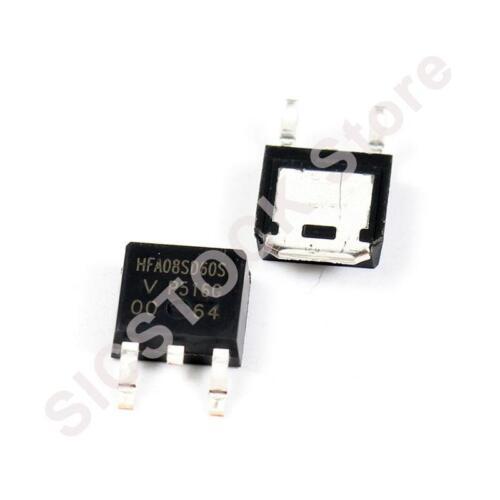 1PCS HFA08SD60S DIODE HEXFRED 600V 8A D-PAK 08SD60 HFA08SD60