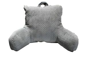 Plush Backrest Pillow Bed Cushion Support Reading Back Rest Arms Chair NEW