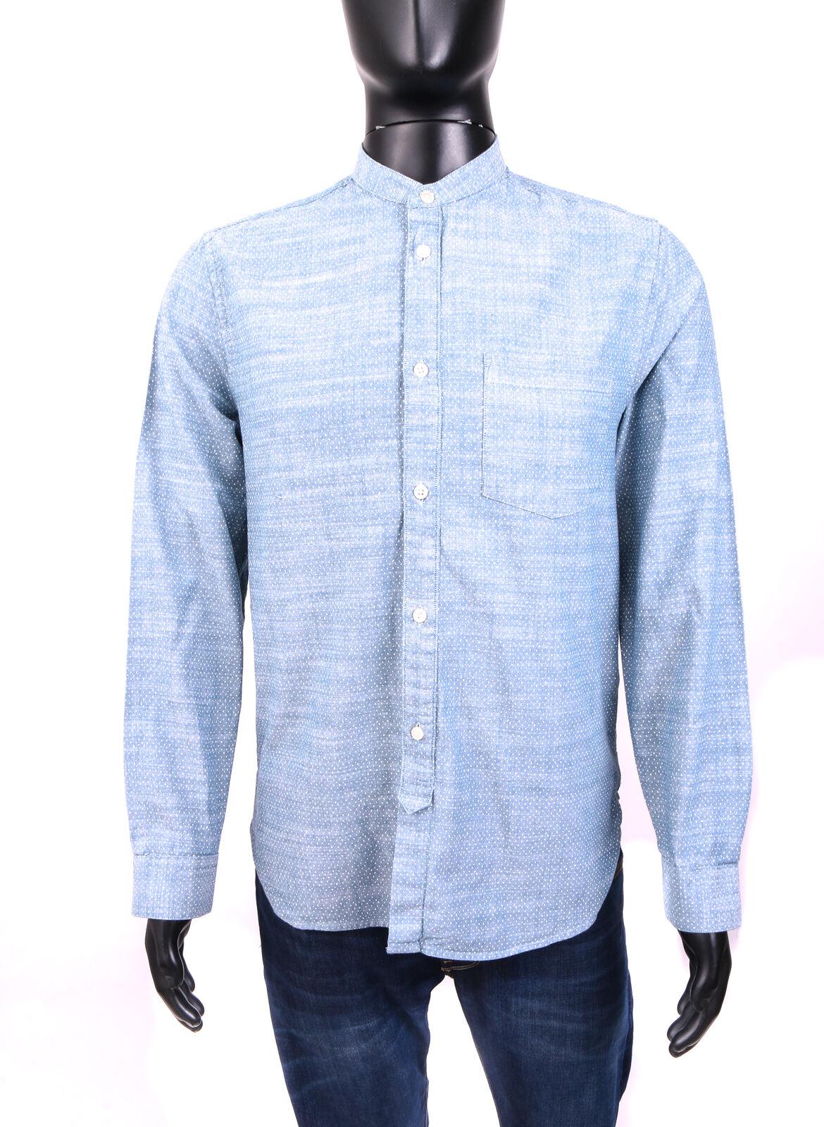 H&M Mens Shirt Tailored Cotton Pattern size M