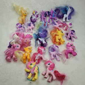 Huge Hasbro My Little Pony Lot of 22 2010+ Dolls Horses Figures, USED