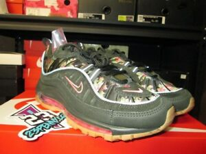 hot new products well known top fashion Details about SALE NIKE AIR MAX 98 WOMENS W FLORAL CAMO SEQUOIA GREEN NEW  AQ6468 300 2018