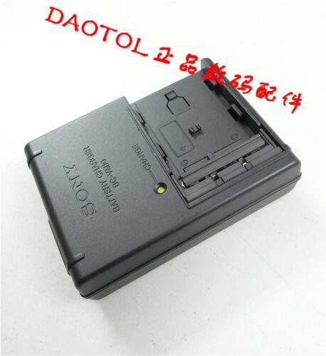 Gb Sony Original Bc-Vm10 Cargador Batería para Np-Fm500h Fm50 A65 A500 A580