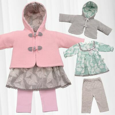 gorgeous hand knitted chunky  fluffy jacket with hood 0-3 3-6 month baby//reborn
