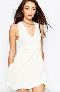 D.RA ASOS Ivory Alphena Dress - BNWT  - Size M Medium