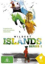 Wildest Islands - Series 1 NEW R4 DVD