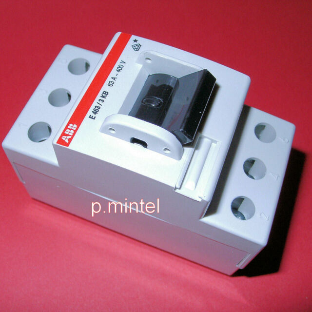 ABB Hauptschalter  Schalter  E463/3KB    63A    3-polig