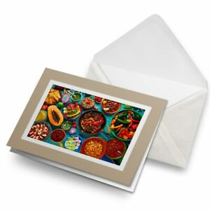Greetings-Card-Biege-Mexican-Traditional-Food-Mexico-21868