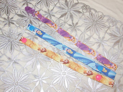 girls 3X  Dummy Holders //Clip// pacifier //soother// leash Strap