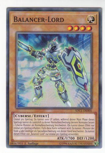 Yu-GI-OH Balancer Lord Common SDCL-DE005 NEU!