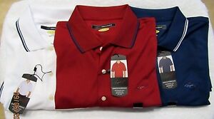 Greg-Norman-PlayDry-Performance-Polo-Red-White-or-Blue-Men-039-s-Sz-M-3XL-NWT