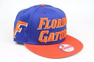 best sneakers d7291 e5ec0 Image is loading Florida-Gators-Mondo-Snap-Royal-Blue-Orange-White-
