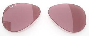 8041 Ray Polarized 15 Lenti Polarizzato Rosa Lenses 55 Pink Ban Ricambio TRx56