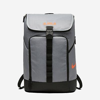 c228a3f580c9 Nike LeBron Max Air Ambassador Backpack Cool Grey BA5447 065 NWT | eBay