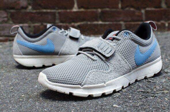 a0f4eeb1e51a * Nike SB Trainerendor; Trail Run Shoe; Base Grey / Vivid Blue; Men SIZE 9  US for sale online