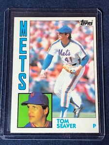 Details About 1984 Topps Tom Seaver Baseball Card 740 Mint Hof New York Mets Free Ship