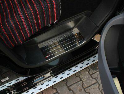 2016up Toyota Proace Chrome Door Sill Scratch Guard 3 Porta S. Acciaio- Alta Sicurezza