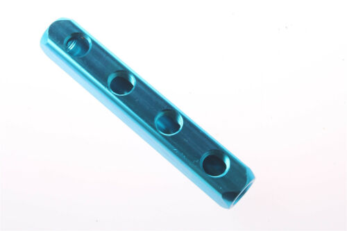 "1Pcs 1//2/""PT Air Pneumatic 4 Positions 7 Thread Ports  Manifold Block Splitter"