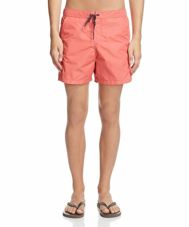 Ecoalf Menorca Coral Trunk Shorts MSRP   Made in Portugal Size 33  Large