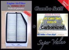 Quality Engine & Carbonized Cabin Air Filter for 2015-16 HONDA CRV CR-V & C35519