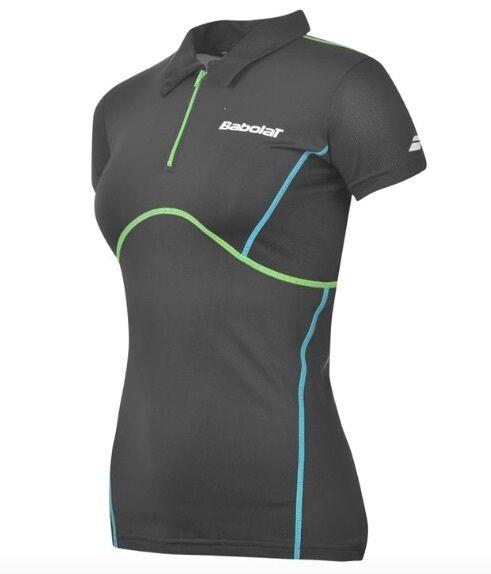Babolat Damen Tennis Sport Polo Shirt Schwarz Blau Blau Blau Grün alle Größen Neu  | Exzellente Verarbeitung  | Verschiedene Stile  | Neu  1eb063